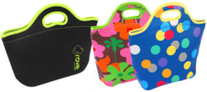Promotional Reusable Neoprene Insulated Cooler Lunch Bag Ice Bag pictures & photos