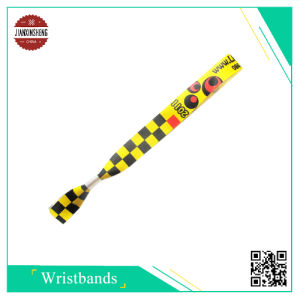 Event Promotion Fabric Satin Wristband pictures & photos