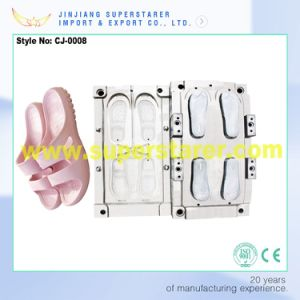 Custom Exported Shoes Equipment Mold, Plastic Injection Mould Slipper pictures & photos