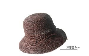 Custom Fedora Style Paper Straw Hat/Holiday Hat/Sun Hat pictures & photos