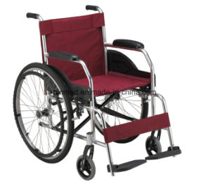 High Quality Aluminum Alloy Wheelchair pictures & photos