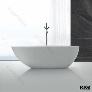 China Factory Acrylic Solid Surface Bathtub, Bathroom Bathtub pictures & photos