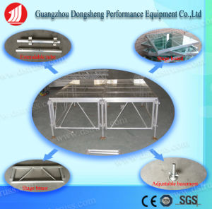 Aluminum Truss Glass Stage Aluminum Event Stage Lighting Stage pictures & photos