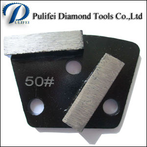 Trapezoid Metal Grinding Pad for Granite Floor pictures & photos