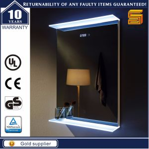 High Grade Wall Hung Bathroom LED Lighted Mirror pictures & photos