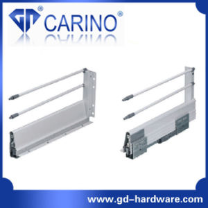 Concealed Full Extension Drawer Slides Bottom Mount with One Bar (F218G) pictures & photos