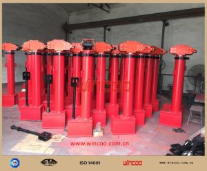 Automatic Top-to-Bottom Tank Hydraulic Jack/Automatic Top-to-Bottom Tank Hydraulic Jack pictures & photos