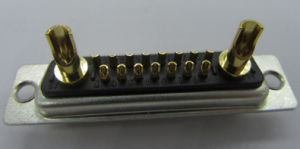 15W2 Male D-SUB Connector, Solder Type, , for Contacts pictures & photos
