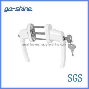 GS-A18 UPVC Casement Door Handles with Lock pictures & photos