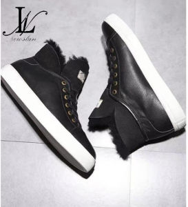 High Top Winter Leather Sneaker (CAS-051) pictures & photos