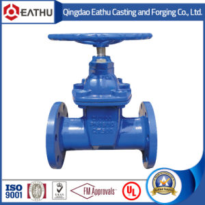 DIN 3352 F5 Resilient Seat Non-Rising Stem Gate Valve Pn16 pictures & photos