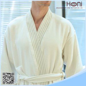 Customized Size Kimono Waffle Bathrobe pictures & photos