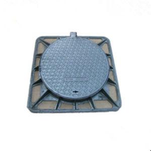 En 124 Ductile Iron Square Manhole Cover pictures & photos