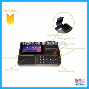 3G WiFi Android POS NFC Payment Terminal with Printer (Zkc PC701) pictures & photos