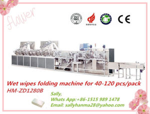 12 Lanes Baby Wet Wipes Producing Machine for Folding Machinery Price