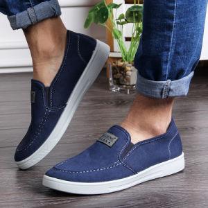 2017 Spring New Men′s Canvas Shoes, Step up Korean Version, Foot Canvas Shoes, Low Shoes for Men, Wholesale Men′s Shoes pictures & photos