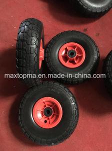 Maxtop Rubber Flat Free PU Foam Wheel / Wheel Barrow PU Wheel pictures & photos