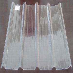 FRP GRP Fiberglass Glassfiber Translucent Corrugated Roofing Sheet pictures & photos