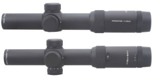 Forester 1-5X24 Tactical Optic Ar15 Hunting Rifle Scope with Clear Edgeless Image Long Eye Relief Return Zero Fd7 Reticle pictures & photos