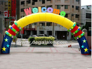 New Style Inflatable Welcome Arch for Celebration Customized pictures & photos