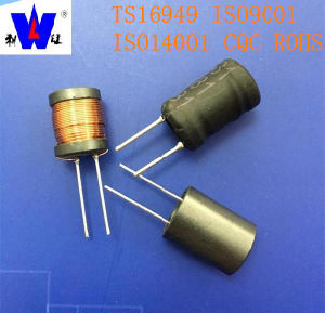 Ferrite Drum Core Radial Leaded Power Filter Coil Inductors with 47uh 100uh 220uh 1mh pictures & photos