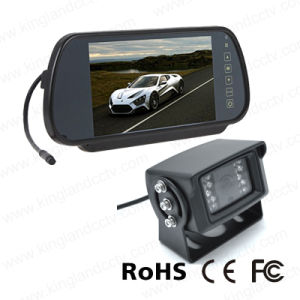 7inches Rear View Mirror Monitor System with Infrared Camera pictures & photos