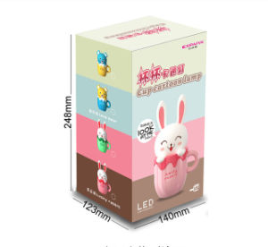 Creative Cartoon Animal Cup LED Charging Eenergy Saving Night Light Baby Bedroom Bedside Sleep Light pictures & photos