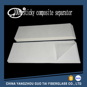 High Quality 100% Sticked Composite Fiberglass Battery Separator for Lead-Acid Battery pictures & photos