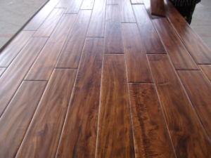 Small Leaf Acacia Hardwood Flooring (Engineered flooring) pictures & photos