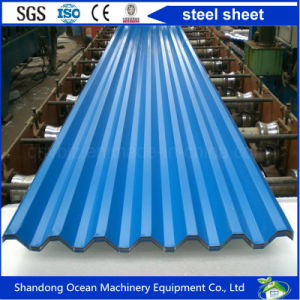 Various Shaped Steel Sheet Corrugated Sheet Roof of Color Steel as Roof Sheet for Light Steel Structure pictures & photos