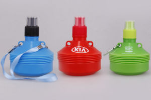 OEM PE Foldable Portable Sport Water Bottle with Rope pictures & photos