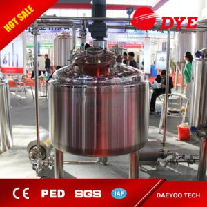 500L Batch Brewing Brewery Beer Equipment Mashing System Tun for Sale pictures & photos