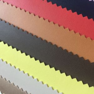 Elastic Backing PU Leather for Cases Box pictures & photos