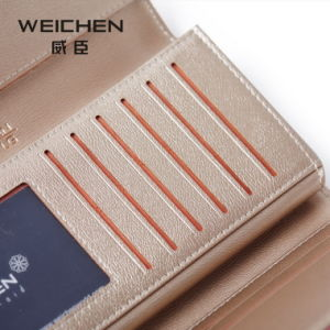 New Korean Female Villsion Zipper Wallet Purse Short Small Multi Card Small Fresh Mini Wallet pictures & photos