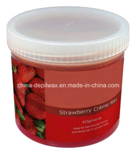 425g Jar Soft Depilatory Wax Chocolate Cream Wax with Wonderful Cocabutter Aroma pictures & photos