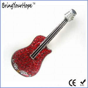 Jewellery Guitar USB Flash Memory (XH-USB-103) pictures & photos