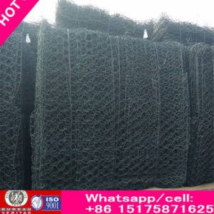 Galvanized/PVC Coated Hexagonal Wire Netting / Gabion Mesh/ Stone Cage pictures & photos