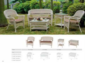 Luxury Aluminum Outdoor Rattan Sofa