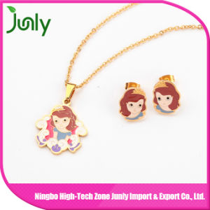 Smart Pendant Necklace Gold Chain Beautiful Girl Necklace pictures & photos