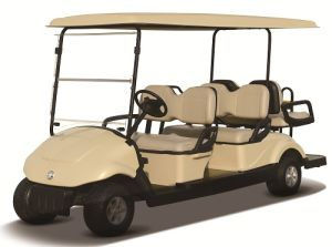 Dongfeng 6 Seats Electric Golf Car /Electric Sightseeing Vehicle pictures & photos