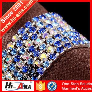 Made with Important Materials Cheaper Rhinestone Chain Trim pictures & photos