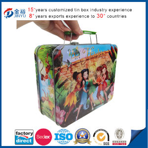 Free Sample Handled Kids Lunch Box pictures & photos
