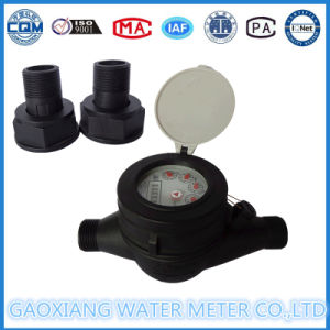 Plastic Rotary Vane Dry Type Water Meter in Stocks 3/4′′inch pictures & photos
