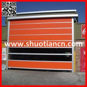 Warehouse Fabric Fast PVC Gate pictures & photos