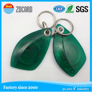 Tk4100 RFID Key FOB for Residents and Hotels pictures & photos