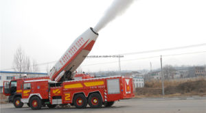 Professional Supply HOWO Air Turbine Fire Fight Trucks Fire Pump Fire Engine with 16m-300m Height pictures & photos