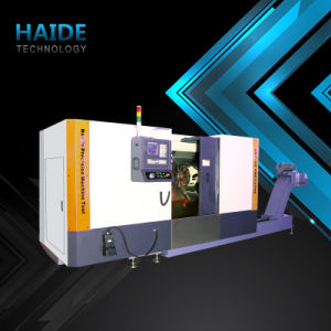 Hnc-50 CNC Lathe Machine Tool with Slant Bed (7) pictures & photos