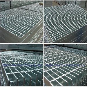 Hot DIP Galvanized Steel Structure Grating for Platform pictures & photos