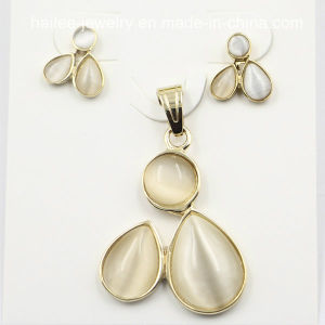 Costume Stainless Steel Fashion Set Jewelry for Decoration pictures & photos