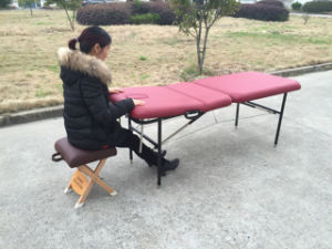 Traditional Iron Massage Table, Massage Bed and Couches with Backrest pictures & photos